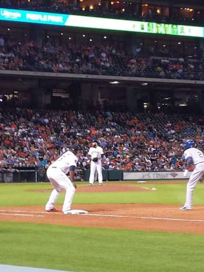 Minute Maid Park, section: 127, row: 3, seat: 16