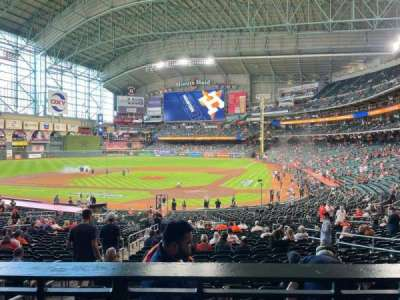 Minute Maid Park, section: 118, row: 32, seat: 3