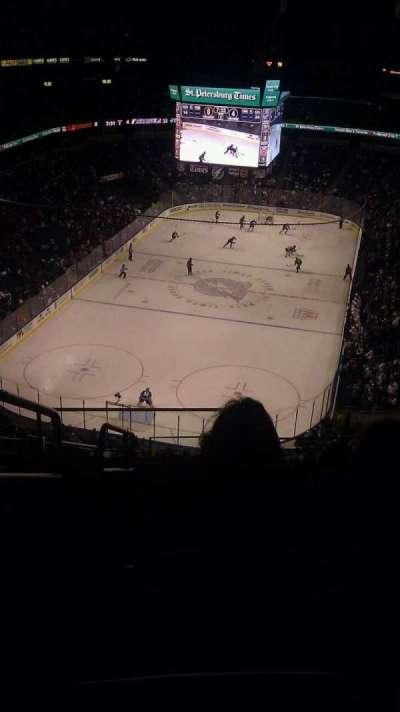 Amalie Arena section 307