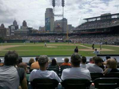 Comerica Park, section: 132, row: 14, seat: 13