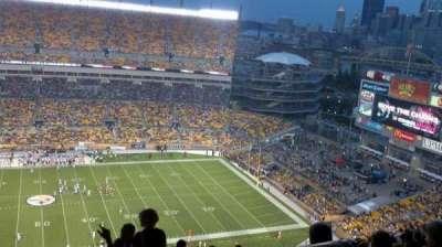 Heinz Field, section: 534, row: Cc, seat: 12