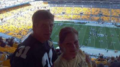 Heinz Field, section: 534, row: BB, seat: 12