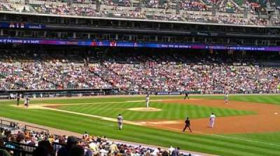 Comerica Park section 116A