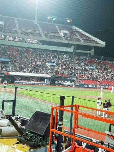 KT Wiz Park, section: 108, row: 5, seat: 56