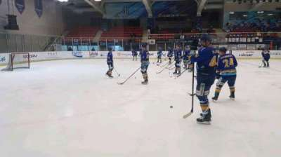 Anyang Ice Hockey Rink, section: 특별석 (Special Seat), row: 1, seat: 4