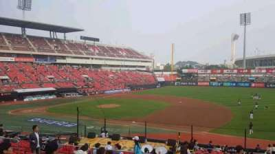 KT Wiz Park, section: 208, row: 10, seat: 77