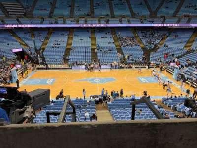 Dean E. Smith Center, section: 225, row: A , seat: 10