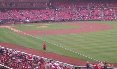 Busch Stadium, section: 132, row: 23, seat: 11
