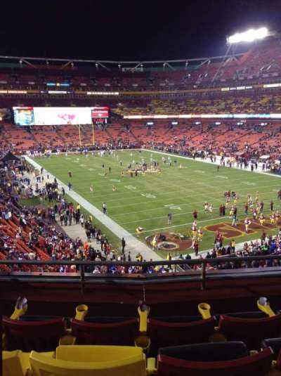 FedEx Field section 314