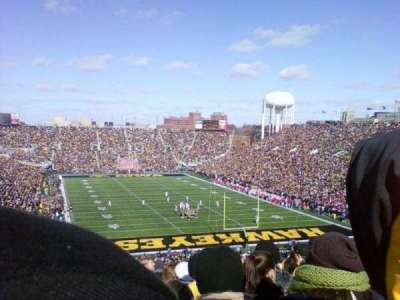 Kinnick Stadium section 218