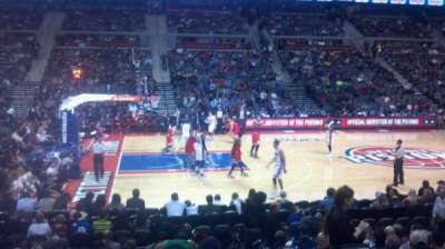 The Palace of Auburn Hills section 101