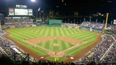 PNC Park, section: 316, row: Q, seat: 18