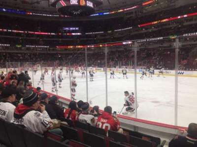 United Center, section: 119, row: 6, seat: 13