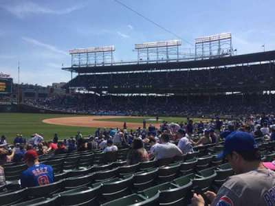 Wrigley Field, section: 106, row: 6, seat: 5