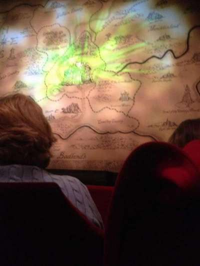 Oriental Theatre, section: ORCH-C, row: B, seat: 113