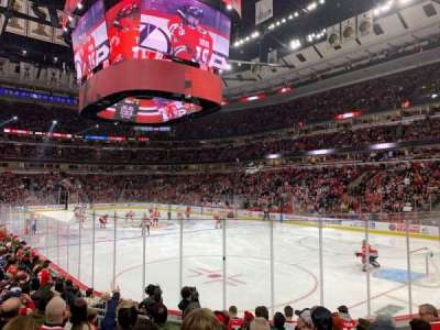 United Center section 108