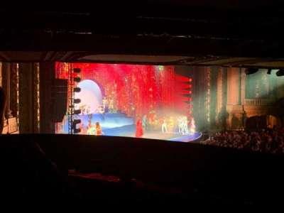 Chicago Theatre, section: Mezzanine Box W, row: 2, seat: 3