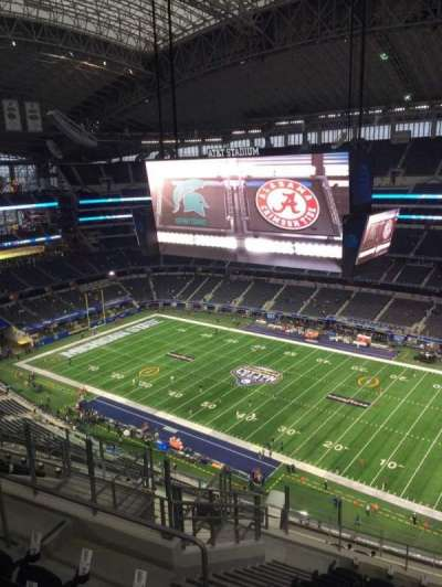 AT&T Stadium section 438