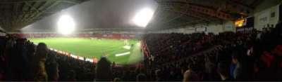 Keepmoat Stadium, section: North East, row: T, seat: 1056