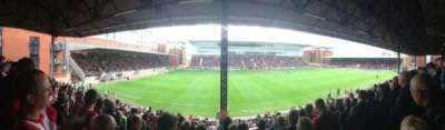 Matchroom Stadium, section: EBM - PAPST East Stand Upper, row: K, seat: 159