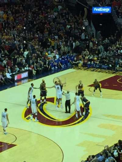 Quicken Loans Arena, section: 104, row: 7, seat: 28