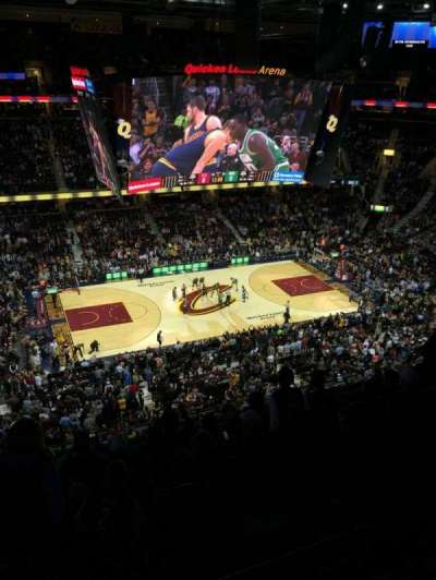 Quicken Loans Arena, section: 207, row: 7, seat: 2