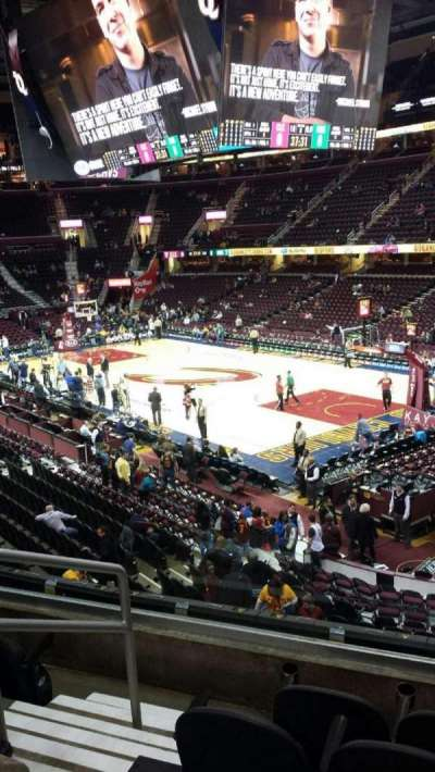 Quicken Loans Arena, section: 130, row: 19, seat: 1
