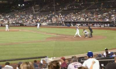 Citi Field, section: 121, row: 13, seat: 10