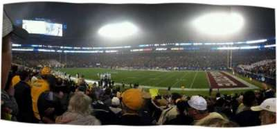 Bank of America Stadium, section: 128, row: 15, seat: 4