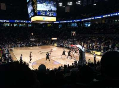 McCamish Pavilion, section: 113, row: 16, seat: 3