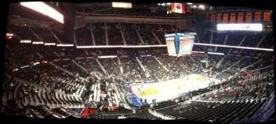 Philips Arena, section: B 108, row: 1, seat: 2