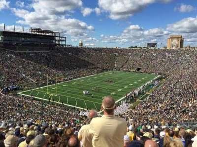Notre Dame Stadium section 116