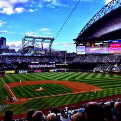 Safeco Field, section: 227, row: 9, seat: 14
