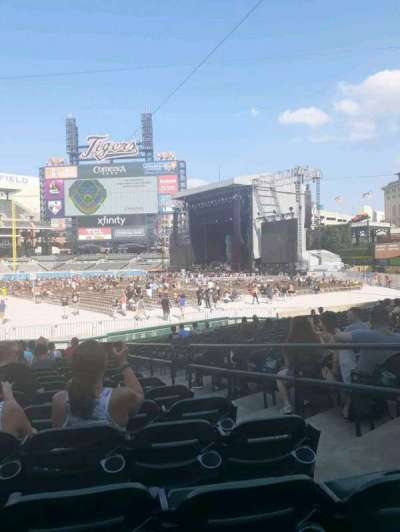 Comerica Park section 116