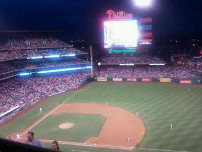 Citizens bank park  section 413V