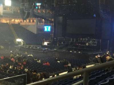 Webster Bank Arena, section: 104, row: G, seat: 1