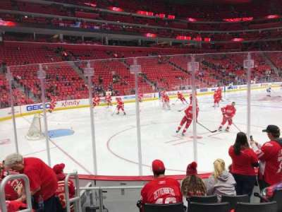 Little Caesars Arena, section: 125, row: 6, seat: 7-8