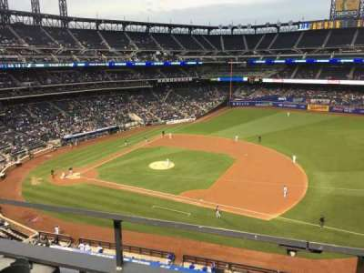 Citi Field, section: 406, row: 1, seat: 9