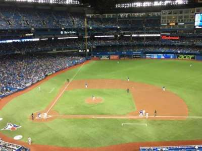 Rogers Centre, section: 519L, row: 1, seat: 101
