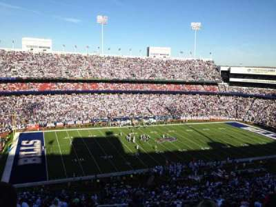 New Era Field, section: 337, row: 23, seat: 1