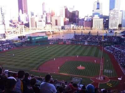 PNC Park, section: 320, row: V, seat: 4