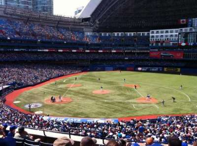 Rogers Centre, section: 220R, row: 8, seat: 3
