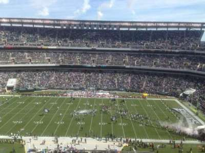 Lincoln Financial Field, section: 201, row: 11, seat: 1