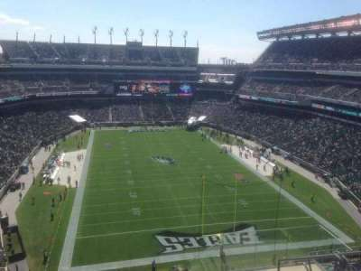 Lincoln Financial Field section 234