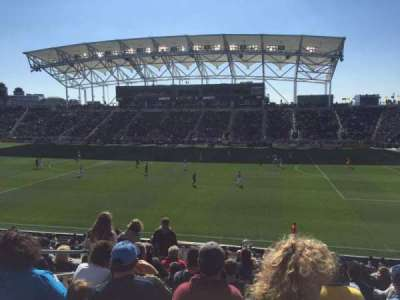 Talen Energy Stadium, section: 124, row: X, seat: 16