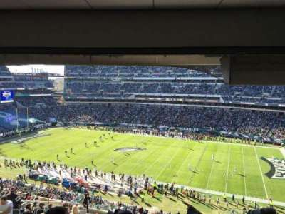 Lincoln Financial Field section CS111