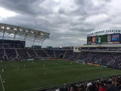 Talen Energy Stadium section 127