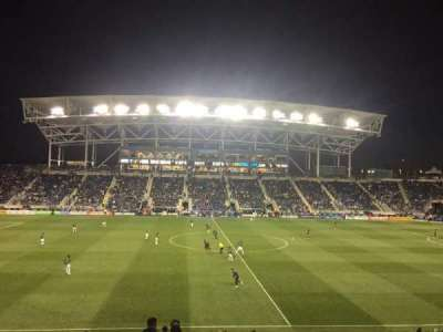 Talen Energy Stadium, section: 128, row: Y, seat: 1