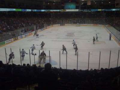 General Motors Centre, row: 1