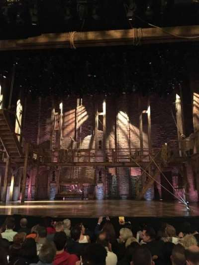 Richard Rodgers Theatre, section: Orchestra, row: H, seat: 104